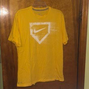 Men's Nike Dri-Fit Baseball T-Shirt Size M